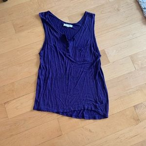 Purple Urban Outfitters tank top